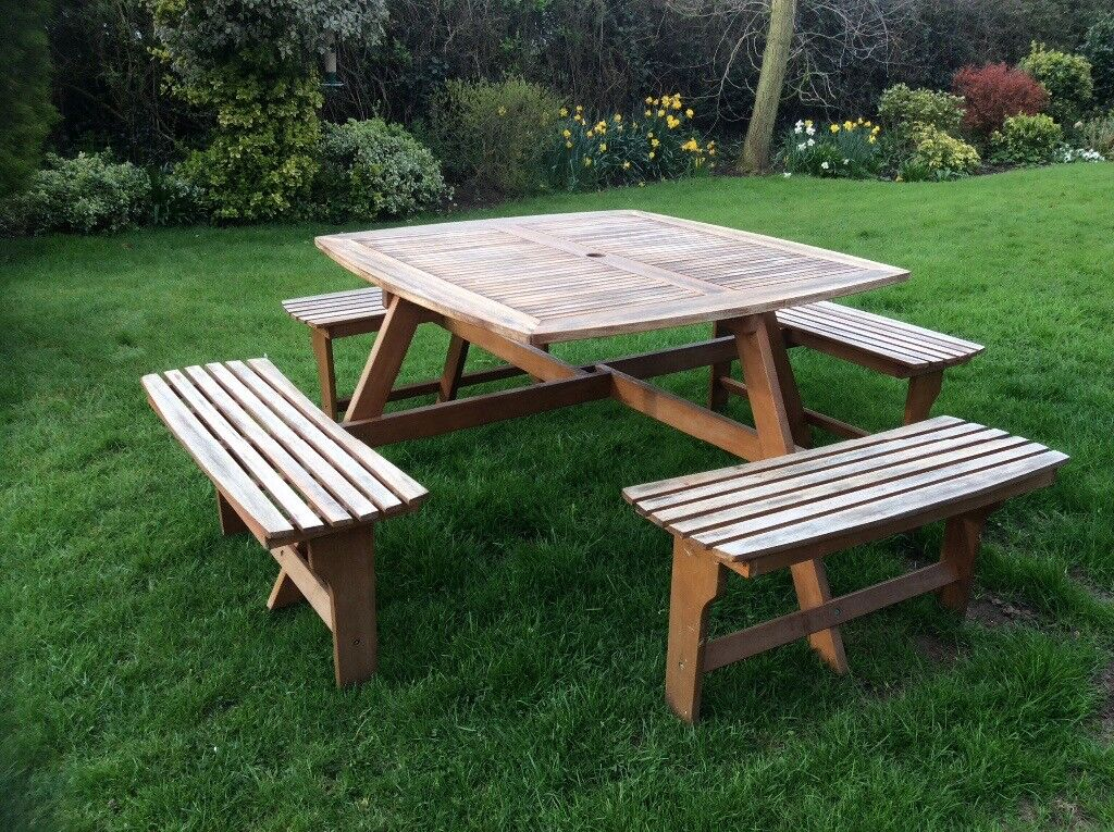 Picnic Table Seats People In Ipswich Suffolk Gumtree - Picnic table seats 8