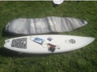 Various surfboards. See advert as more photos. Include short board minimal softtop