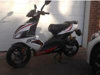 Aprilia SR50 R Scooter (reduced)