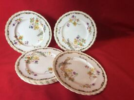 6 vintage side plates