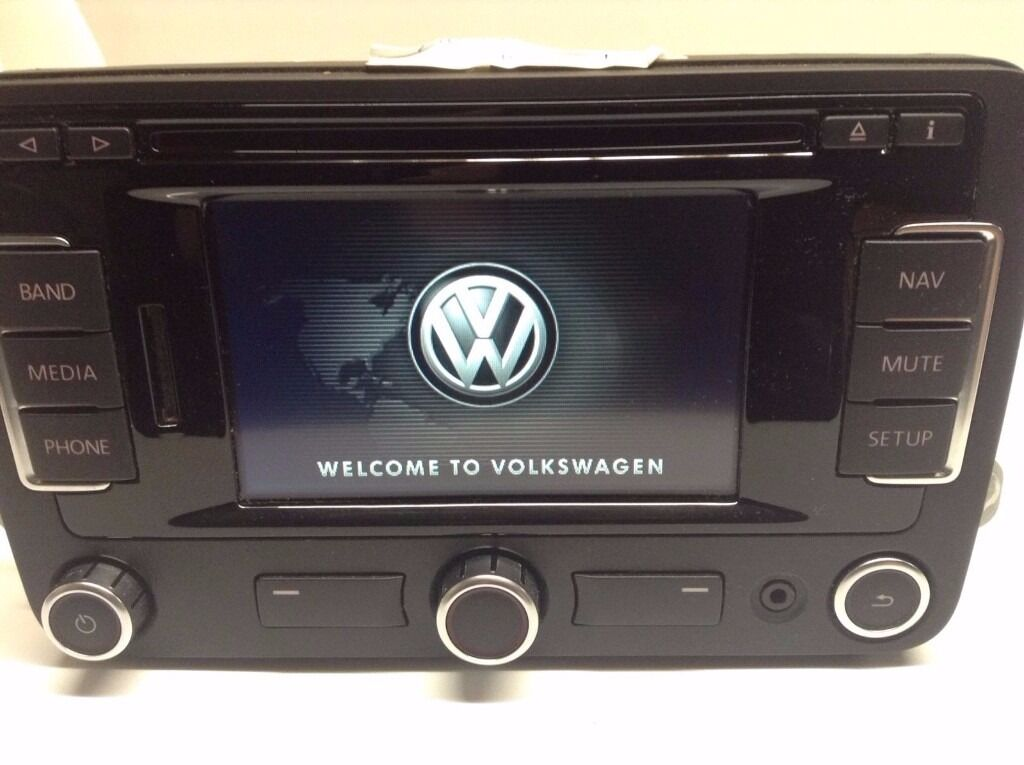 genuine vw rns 315 dab radio bluetooth navigation system. Black Bedroom Furniture Sets. Home Design Ideas