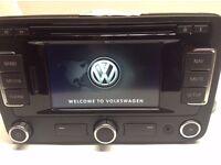 GENUINE VW RNS 315 DAB Radio BLUETOOTH Navigation System Sat Nav Golf , Passat , Skoda , Seat , Polo