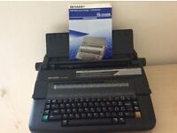 Electric typewriter