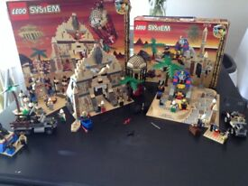 Lego Egyptian/archeology sets: Pharaohs forbidden ruin, sphinx secret surprise & oasis ambush