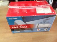 Canon Fax Bubble Jet B120 Brand new never been used.