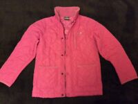 Trespass girls quilted coat size 7-8