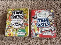 2 Tom Gates books- 50p each