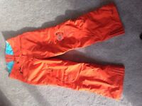 Snowboarding trousers pants men's small