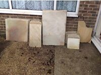 Indian sand stone paving slabs new garden slabs