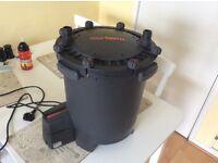 Fx5 external canister filter