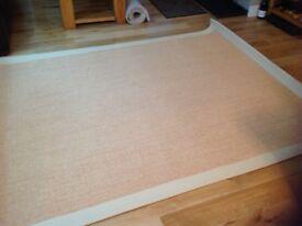 Brand New flat weave rug