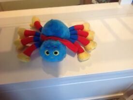 Woolly the spider