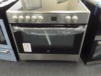 Beko 90cm single range cooker. £420 RRP £500 new/graded 12 month Gtee