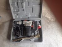 Bench grinder, heavy duty drill, heavy duty drill bits