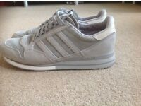 ADIDAS GREY CLASSICS SUEDE TRAINERS SIZE 11