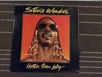 Vinyl Album. Stevie Wonder. Hotter than July.