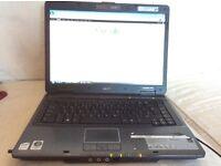 Windows Vista Acer TravelMate 5720 laptop