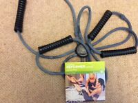 Pilates core strength bands