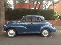 Morris Minor 1000 1967 2 door saloon Trafalgar Blue good condition
