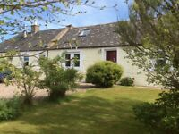 Beautiful country cottage with sea views for sale