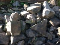 Free Rock stones for landscape project rockery or wall
