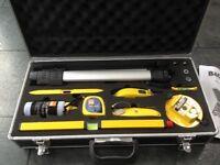 B&Q laser level tool kit unused