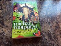 RUNNING WILD BY MICHAEL MORPURGO PAPERBACK BOOK
