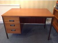 3 drawer Pedestal desk