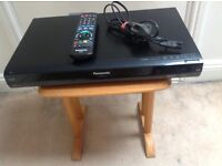 PANOSONIC 160gb/HDD FREEVIEW RECORDER/PLAYER.MODEL NO DMR-EX 773EB WITH REMOTE CONTROL & MANUEL.