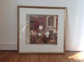 Bernard DUNSTAN limited edition print The Gabrieli Quartet at Stourhead 191/200