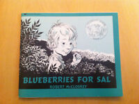 Blueberries for Sal - by Robert McCloskey (Caldecott Book Honor)