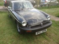 MGB GT. One of the last, good runner with long mot