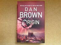 """FIRST EDITION DAN BROWN BOOK - """"ORIGIN"""""""