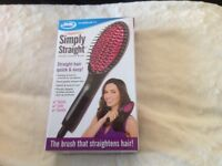 Simply straight hair brush jml