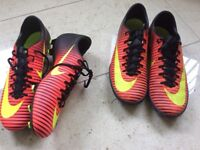 Nike football boots and Astro trainers for sale
