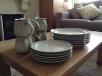 DENBY dinner set - Mist Falls design