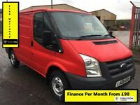 Ford Transit 2.2 260 SWB ,1 Owner From New, Full Service History -10 Stamps ,1YR MOT, Warranty, 85k