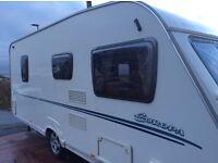 2007 Sterling europa 495 4berth caravan with motor mover
