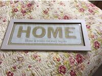 SHABBY CHIC WALL SIGN