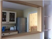 Large wall mirror from John Lewis no offers