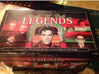 Rock an Roll legends 12 boxed cd collection