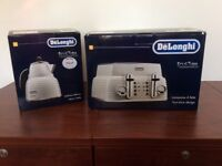 Delonghi kettle and toaster -BRAND NEW