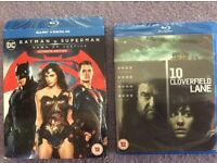 Brand New Blu-Ray DVD's Still Wrapped - Ideal Gifts !