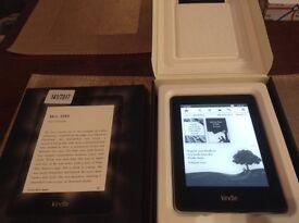 "Amazon "" paperwhite"" kindle, boxed"