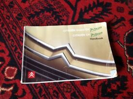 Citroen C4 Grand and C4 Picasso Owners Handbook