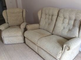 David Phipps Sofa and arm chair