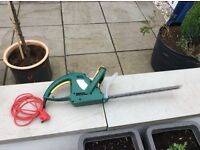 Like new electric hedge trimmer