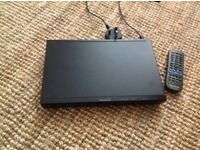 Panasonic DVD player, S500, in full working order with remote, in great condition