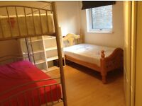 Triple bed in roomshare in flatshare at Covent Garden