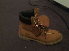 Timberlands uk size 7- worn once